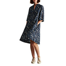 Buy Toast Ladakh Print Dress, Blue/Ecru Online at johnlewis.com