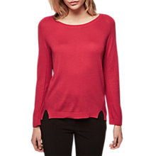 Buy Gerard Darel Air Knitted Jumper, Red Online at johnlewis.com