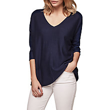Buy Gerard Darel Aida Silk Cashmere Cotton Blend Jumper Online at johnlewis.com