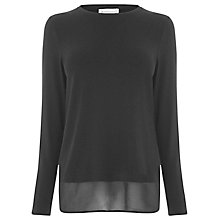 Buy Warehouse Woven Wrap Back Top Online at johnlewis.com