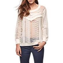 Buy Gerard Darel Dusk Jumper, Beige Online at johnlewis.com