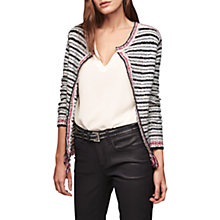 Buy Gerard Darel Andersen Stripe Cotton Cardigan, Multi Online at johnlewis.com