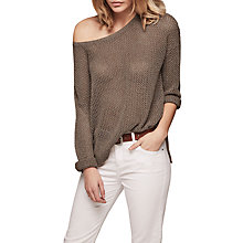 Buy Gerard Darel Flow Jumper, Gold Online at johnlewis.com