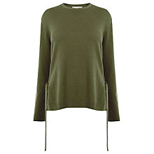 Buy Warehouse Tie Side Jumper Online at johnlewis.com