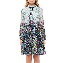 Buy Ted Baker Meelia Entangled Enchantment Dress, Dark Blue Online at johnlewis.com