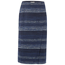Buy White Stuff Gradient Jersey Skirt, Ink Pot Blue Online at johnlewis.com