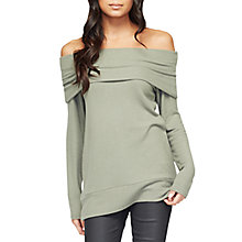 Buy Miss Selfridge Hacci Bardot Top Online at johnlewis.com