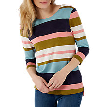 Buy White Stuff Polly Bold Stripe T-Shirt, Multi Online at johnlewis.com