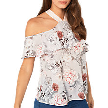 Buy Miss Selfridge Halter Top, Multi Online at johnlewis.com