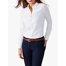 Buy Pure Collection Christine Cotton Shirt, White Online at johnlewis.com