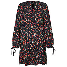 Buy Miss Selfridge Floral Print Tea Dress, Multi Online at johnlewis.com