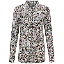 Buy Pure Collection Pleat Pocket Shirt, Multi Online at johnlewis.com
