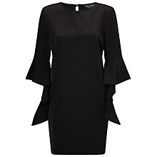 Buy Miss Selfridge Extreme Sleeve Tunic, Black Online at johnlewis.com