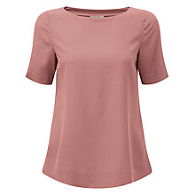 Buy Pure Collection Silk T-Shirt Online at johnlewis.com