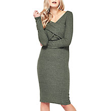 Buy Miss Selfridge Cross Front Midi Dress Online at johnlewis.com