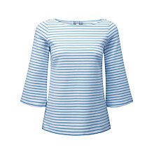 Buy Pure Collection Nancy Flute Sleeve Top Online at johnlewis.com