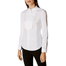 Buy Karen Millen Tailored Shirt, White Online at johnlewis.com