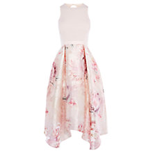 Buy Coast Orsay Floral Midi Dress Shorter Length, Multi Online at johnlewis.com