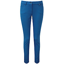 Buy Pure Collection Cropped Jeans, True Blue Online at johnlewis.com