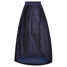 Buy Coast Leah Floral Jacquard Hi Low Skirt Online at johnlewis.com