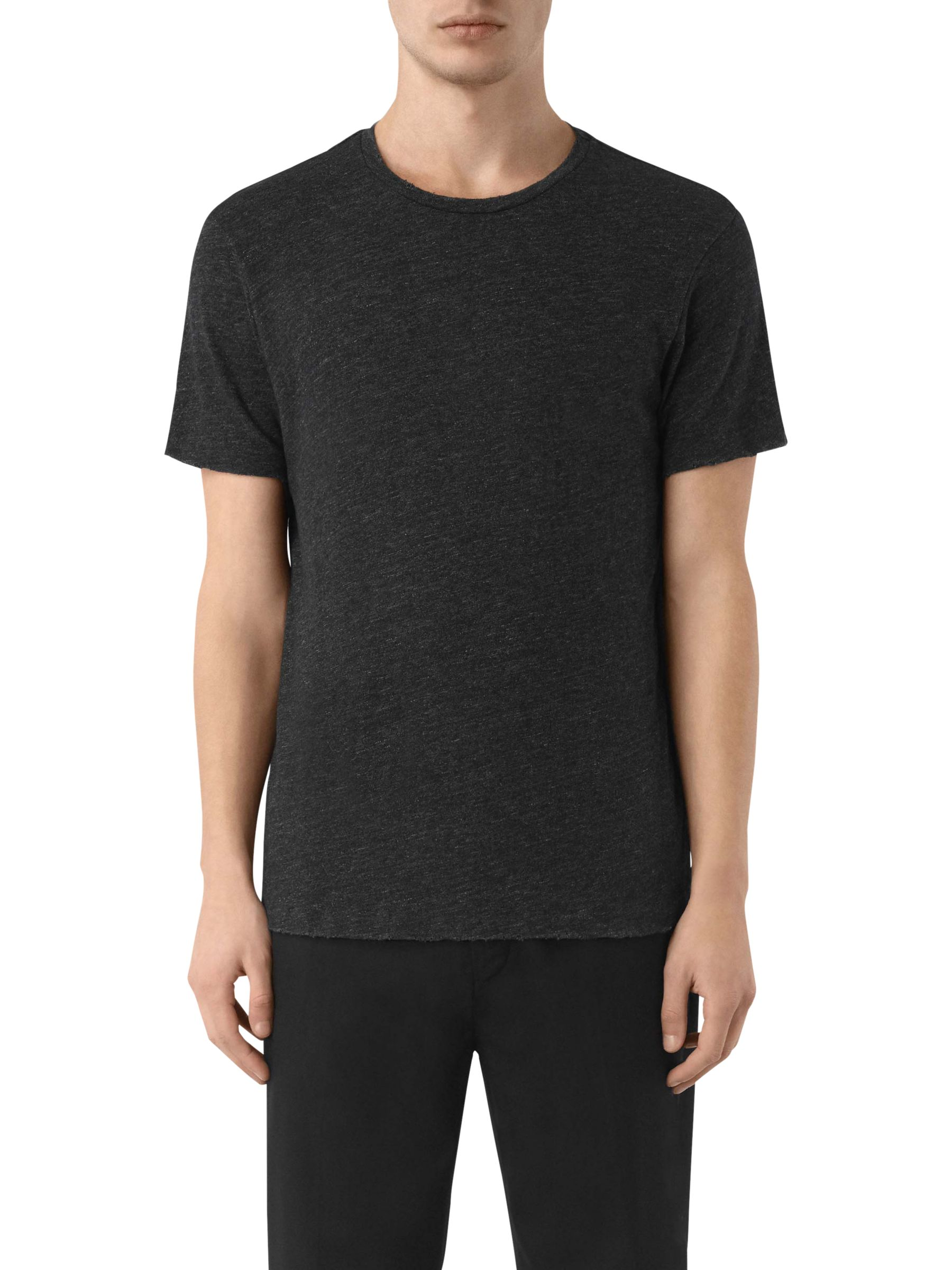 AllSaints AllSaints Schans Short Sleeve Crew T-Shirt