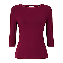 Buy Precis Petite Jesse Satin Trim Top Online at johnlewis.com