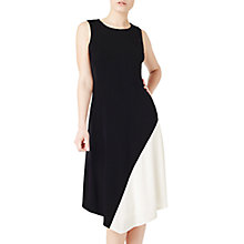 Buy Precis Petite Andrea Flippy Dress, Mono Online at johnlewis.com