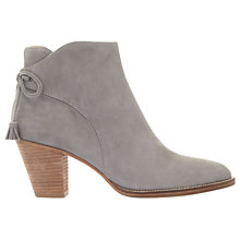 Buy Mint Velvet Elsie Tie Block Heeled Ankle Boots Online at johnlewis.com