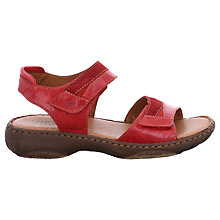 Buy Josef Seibel Debra 19 Rip Tape Flat Sandals Online at johnlewis.com