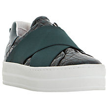 Buy Dune Black Exitt Slip On Trainers Online at johnlewis.com