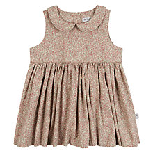 Buy Wheat Baby Eila Floral Print Dress, Natural/Multi Online at johnlewis.com