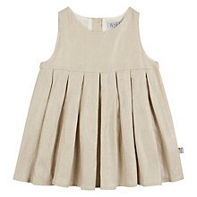 Buy Wheat Baby Melisa Glitter Dress, Gold Online at johnlewis.com