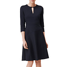 Buy L.K. Bennett Eleanor Jersey Dress, Navy Online at johnlewis.com