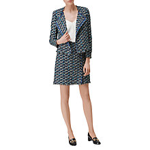 Buy L.K. Bennett Vetti Linton Tweed Skirt, Multi Online at johnlewis.com