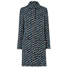 Buy L.K. Bennett Vetti Linton Tweed Coat, Multi Online at johnlewis.com