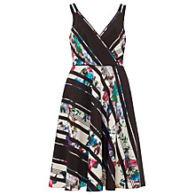 Buy Phase Eight Ethelda Printed Dress, Black/Multi Online at johnlewis.com