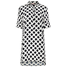 Buy Phase Eight Marilyn Spot Dress, Ivory/Navy Online at johnlewis.com