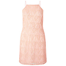 Buy Miss Selfridge Lace Bodycon Dress, Pink/Gold Online at johnlewis.com