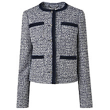Buy L.K. Bennett Astrala Short Tweed Jacket, Multi Online at johnlewis.com