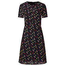 Buy Sugarhill Boutique Casey Cherry A-Line Shift Dress, Navy Online at johnlewis.com
