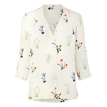 Buy Phase Eight Aria Print Blouse, Multi Online at johnlewis.com