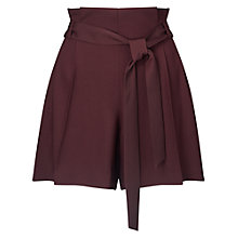Buy Miss Selfridge Paper Bag Shorts Online at johnlewis.com