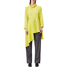 Buy Finery Tasso Cowl Neck Tunic Dress, Yellow Online at johnlewis.com