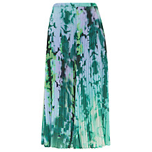 Buy Finery Carlyle Printed Pleated Skirt, Multi Online at johnlewis.com