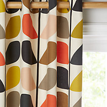 Buy Orla Kiely Multi Stem Lined Eyelet Curtains Online at johnlewis.com