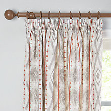 Buy John Lewis Shani Lined Pencil Pleat Curtains Online at johnlewis.com