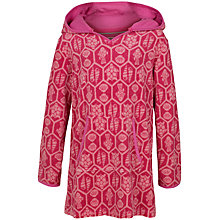 Buy Fat Face Girls' Beach Throw On Poncho, Fuchsia Online at johnlewis.com