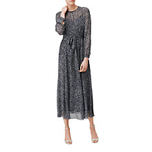 Buy L.K. Bennett Arlen Floaty Silk Dress, Multi Online at johnlewis.com