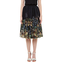 Buy Ted Baker Areely Gem Gardens Tutu Skirt, Black Online at johnlewis.com