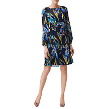 Buy L.K. Bennett Silk Darcy Floaty Dress, Multi Online at johnlewis.com